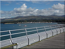 SH5873 : Bangor: an eastern view from the pier by Chris Downer