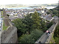SH7777 : Conwy: view over the town from the walls by Chris Downer
