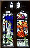 SE5952 : Stained glass window, St Olave's church, York by Julian P Guffogg