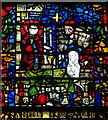 SE6052 : Detail of window s.XXXI, York Minster by J.Hannan-Briggs