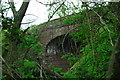 SO7016 : Old railway bridge at Blaisdon by John Winder