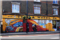 TQ2382 : Tyre and Wheel Co. Harrow Road by Des Blenkinsopp