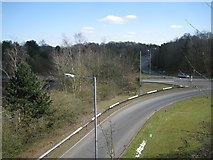 SP0366 : Junction of Windmill Drive B4504 with Bromsgrove Highway A448, Redditch by Robin Stott