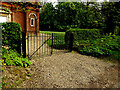 TM4192 : Entrance Gates of Church of our Lady of Perpetual Succour by Geographer