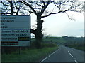 SJ2523 : A495 west of Porth-y-waen by Colin Pyle