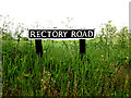 TM4192 : Rectory Road sign by Adrian Cable