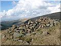 NS6305 : Summit shelter, Craigbraneoch Hill by Alan O'Dowd