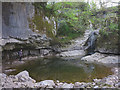 SD7386 : Hell's Cauldron, River Dee in Dentdale by Karl and Ali