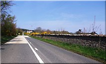 NO8587 : A dog-leg bend in the A957  to Banchory by Stanley Howe