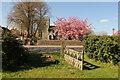 TG4413 : Churchyard gate by Richard Croft