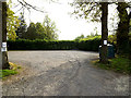 TM4294 : The White Hart Inn Public House Car Park by Adrian Cable
