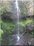 NS4760 : Waterfall on Glen Burn in Glen Park by G Laird