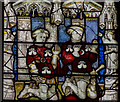 SE6052 : Detail, Stained glass window n.VII, York Minster by Julian P Guffogg