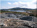 NX5375 : Quarry near Craignell by Iain Russell
