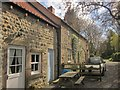 SE2865 : Cottage by the Ripon Rowel Walk by Derek Harper