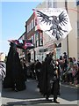 TQ8209 : Jack in the Green Festival - Ravens by N Chadwick
