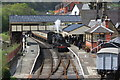 SJ2142 : Llangollen station by Roger Davies