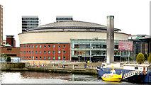 J3474 : The Waterfront Hall, Belfast - May 2014(4) by Albert Bridge