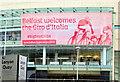 J3474 : Giro d'Italia,Waterfront Hall, Belfast (May 2014) by Albert Bridge