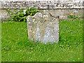 SK7234 : 18th century gravestone, Langar churchyard by Alan Murray-Rust