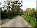 TM4584 : Rectory Road. Sotterley by Adrian Cable