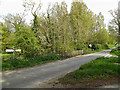 TM4584 : Pound Road, Sotterley by Adrian Cable
