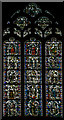 SE6052 : Stained glass window, s.VIII, York Minster by Julian P Guffogg