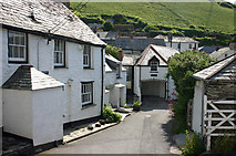 SW9980 : Middle Street Port Isaac by Jo Turner