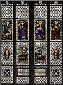 SE6052 : Stained glass window, St Michael le Belfrey, York by Julian P Guffogg