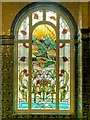 SJ8595 : Sunrise Window, Turkish Baths Rest Room by David Dixon