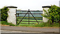 J2184 : Field gate, Templepatrick - May 2014(1) by Albert Bridge