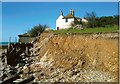 TV5197 : Recent erosion at Cuckmere Haven by Andrew Diack