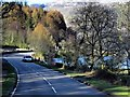 NN3209 : A82, Loch Lomond Shore, Inveruglas by David Dixon