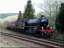 NN3825 : Great Britain VII Approaches Crianlarich by Mary and Angus Hogg