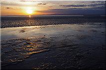 SD4061 : Beach near Throbshaw Point by Ian Taylor