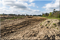 TQ2150 : Route of new Water Main by Ian Capper