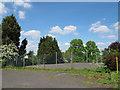 TQ3864 : Basketball courts, Wickham Court by Stephen Craven