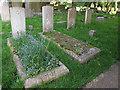 TQ3864 : Commonwealth War Graves, West Wickham  by Stephen Craven