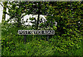 TM4394 : Post Office Road sign by Adrian Cable