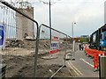SJ9594 : Demolition at Clarendon Place by Gerald England