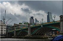 TQ3280 : Southwark Bridge, London by Christine Matthews