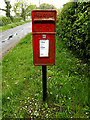 TM4693 : Dun Cow Road Postbox by Adrian Cable