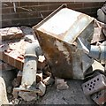 SJ9594 : Debris from the former car park by Gerald England