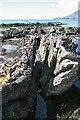 NM4689 : Dyke in Sandstone by Anne Burgess