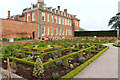 SO9463 : Hanbury Hall and parterre by Kate Jewell