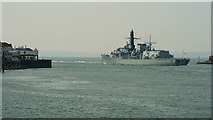 SZ6299 : HMS Kent by Peter Trimming