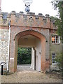 SU8347 : The Gate House, Farnham Castle by Josie Campbell