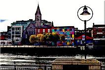 O1634 : Dublin-Buildings along City Quay by Suzanne Mischyshyn