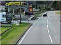 NN0329 : Service Station on the A85 by David Dixon