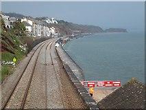 SX9777 : Railway to Dawlish Warren by David Smith